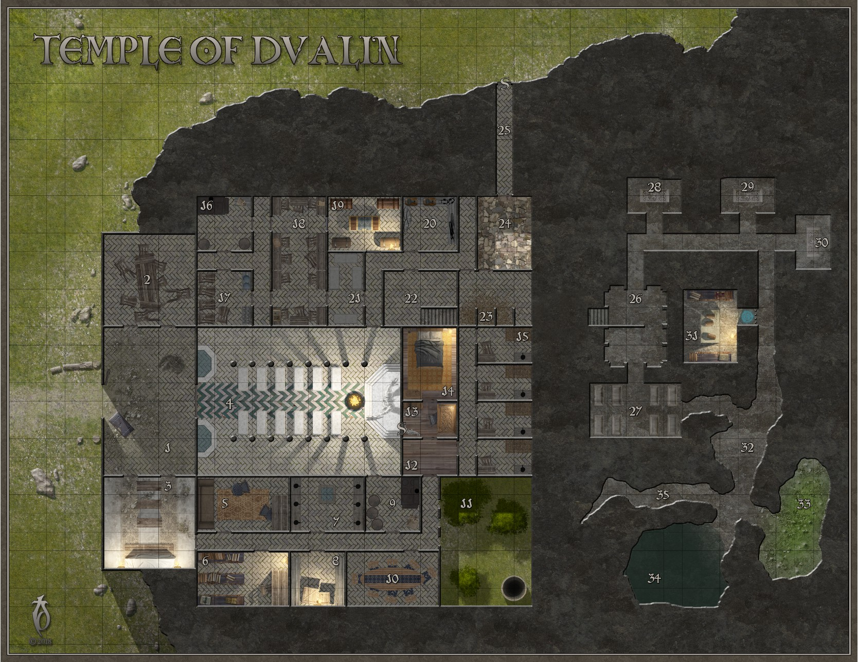 Temple of Dvalin